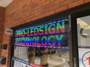 Scrolling LED Sign Best Quality Best Price Local Manufacturing