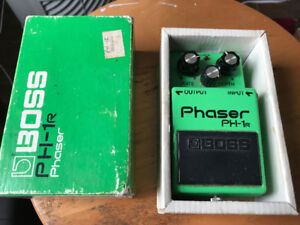 BOSS PH-1R Phaser pedal, vintage in good working order