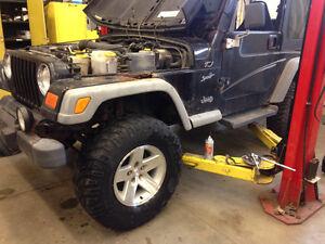 2002 Jeep TJ $1500