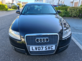 Full Mot No Advisory 2007 Audi A6 2.LTDI..low Miles...FSH .£2995
