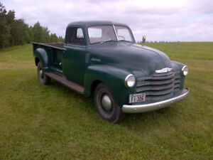 1948 chev 1 ton BROOKVILLE HALL OCT 21 , @ 10:30am