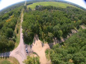 2.74 Acres for sale -private and treed less than 10 min to town!
