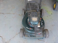 craftsman self proppeled lawn mower