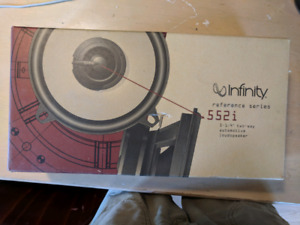 """Infinity 552i 5-1/4"""" two-way car speakers"""
