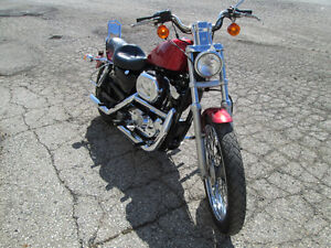 1997 Sportster custom 1200 *lots of chrome London Ontario image 8