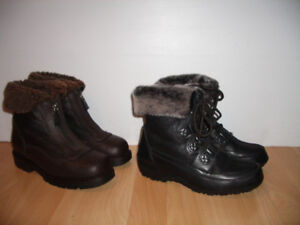 """ PAJAR "" BLONDO "" bottes mouton / shearling --- size 6 - 7 US"