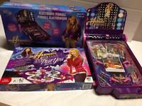 Hannah Montana Board Game & Pinball Machine
