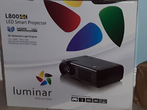 Projector and screen for sale