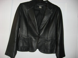Peter Nygard Petite Size 6 Genuine Leather Jacket
