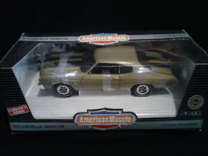 COLLECTORS EDITION AMERICAN MUSCLE 70 CHEVELLE LS6