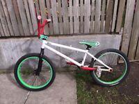 Custom BMX stunt bike for quick sale going cheap