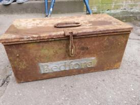 Bedford Truck Toolbox Vintage