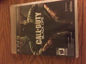 Black ops 1 for PS3 $10 can drop off for extra $5