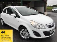 Vauxhall/Opel Corsa 1.2i 16v ( 85ps ) ( a/c ) 2013 Energy White Manual
