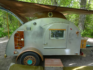 Unique One of a Kind Teardrop Camper