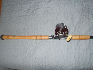 Canne moulinet peche a grise, etc, Penn , Heavy fish rod reel