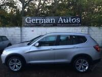 BMW X3 4X4 Xdrive 2.0 D SE Black Leather X5