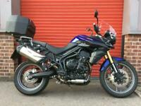 TRIUMPH TIGER 800 ABS 3450 MILES, TOP BOX, HEATED GRIPS