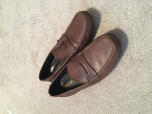 Men's Geox Brown Loafers Size 10