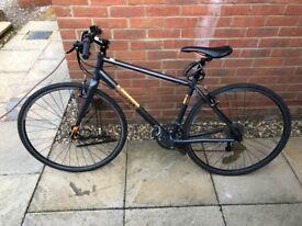 Pinnacle Men's Hybrid Bike Black and Orange