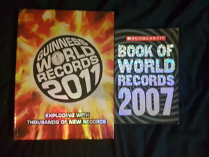 World Record Books 2007 and 2011