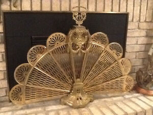 Antique Fire Place Screen. Sarnia Sarnia Area image 2
