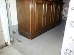 Dining table with leaf,  6 chairs,  and buffet $50 Kitchener / Waterloo Kitchener Area image 6