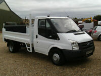 Ford Transit 350 TDCI DROPSIDE TRUCK WITH TAILLIFT EX BT 2007 REG