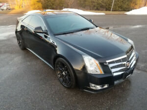 2012 CADILLAC CTS COUPE *** BLACK on BLACK *** CERTIFIED $14995