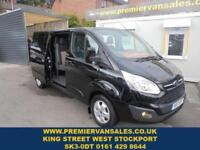 2017 17 FORD TRANSIT CUSTOM 2.0 290 LIMITED LR DCB 130 BHP SIX SEAT FACTORY DOU