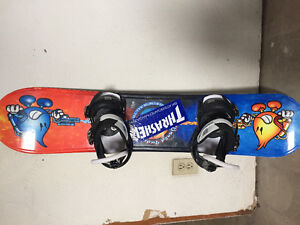 Youth World Industries board and bindings
