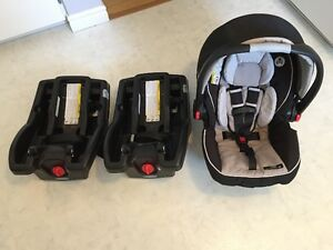 Craco SnugRide Click Connect 35 Car Seat Incl. 2 Bases