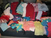 Gros lot de beaux vêtements 2 et 3 ans pour fillette