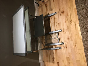 Metal & Glass Desk