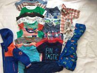 Bundle boys summer clothes 12-18 months
