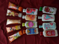 Bath & Body Works (brand new - creams $7 & lotions $5)