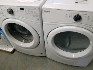 "WHIRLPOOL 27"" STACKABLE LAUNDRY PAIR"
