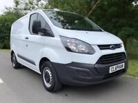 2015 15 FORD TRANSIT CUSTOM 2.2TDCI 100BHP 290 WHITE L1 H1 ANY UK DELIVERY