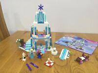 Elsa's Lego ice castle