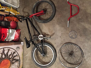 Fitbikeco Bmx with Wethepeople and Norco parts