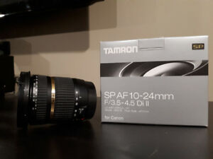 Canon DSLR Compatible Tamron Wide Angle Lens
