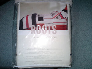 Roots twin sheet set