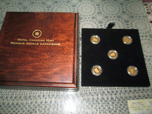 5 GOLD COIN COLLECTION