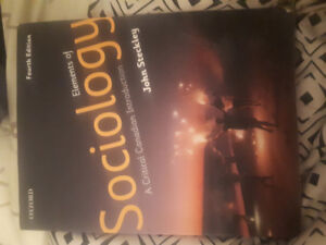 Elements of sociology a critical Canadian introduction 4th ed.