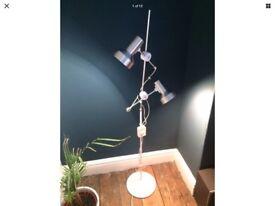 1960's Vintage Habitat Maclamp Adjustable Light Floor Light Standard Lamp