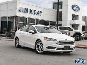 2018 Ford Fusion SE  - one owner - Certified