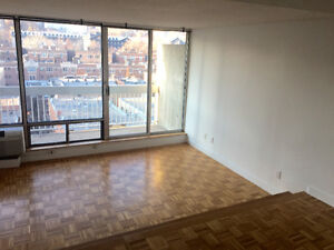 AUG 1st - Bright, Spacious 2 1/2 near Guy-Concordia/Atwater