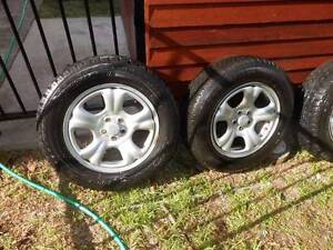 Subaru Forester 2009 Steel Rims and Tyres Thornton Maitland Area Preview