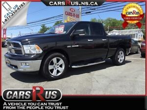 2010 Dodge Ram Pickup 1500 4x4 SLT 4dr Quad Cab 6.3 ft. SB Picku