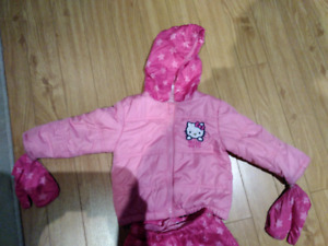 12m - 18m winter coat and snow pants infant girls